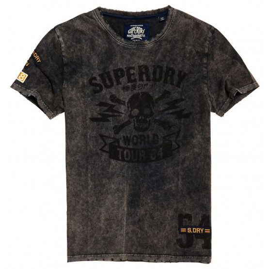 SAMARRETA SUPERDRY WORLD TOUR ACID WASH BLACK HOME