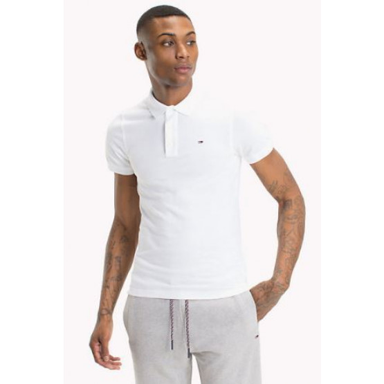 POLO TOMMY HILFIGER PIQUE CLASSIC WHITE HOME