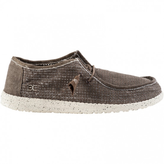 ZAPATO DUDE WALLY PERFORATED TAN 41